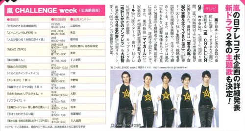 Arashi challenge week 10200909