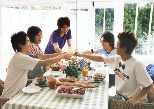 Arashi cook book 2008-2009 33