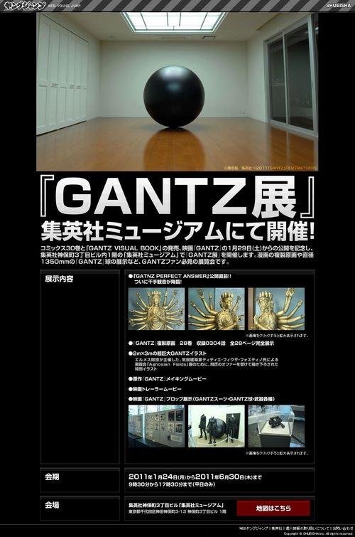 EXPOSITION GANTZ 24.01.2011 au 30.06.2011 01