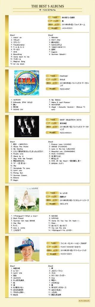 THE JAPAN GOLD DISC AWARD 2010 05