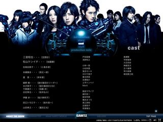 GANTZ PEFECT ANSWER 04 CAST