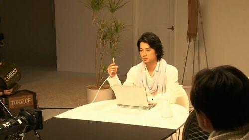 2011.11.20 PUB AU BY KDDI ひかりmaking of